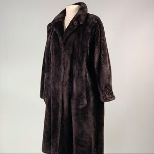 a070b800f Jackets & Blazers - Sheared beaver fur long coat